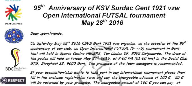 Międzynarodowy turniej futsalu