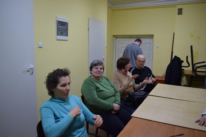 Spotkanie w Biłgorajskim Stowarzyszeniu Głuchych Głos Ciszy