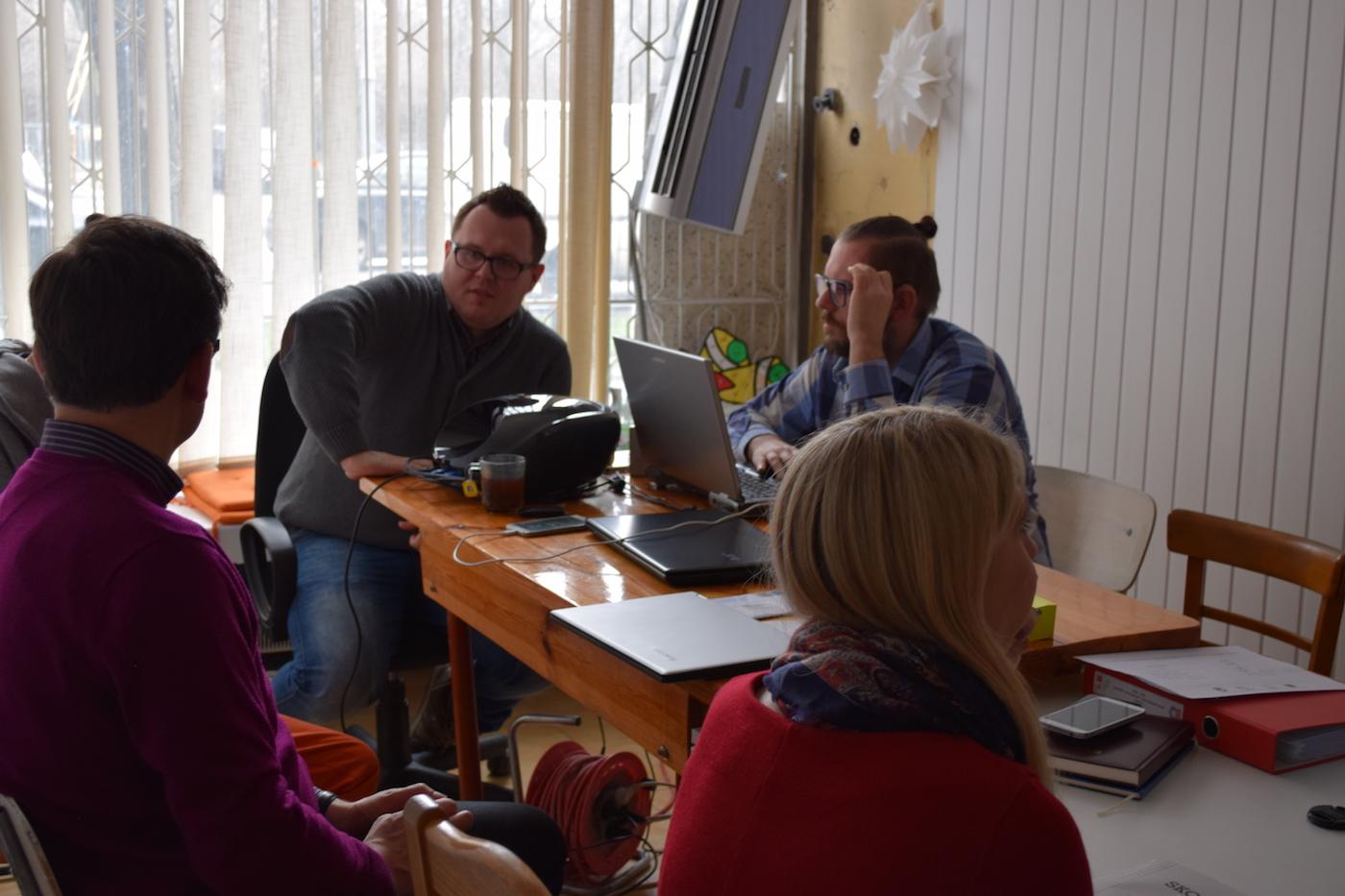 Spotkanie w Fundacji UPS Warszawa