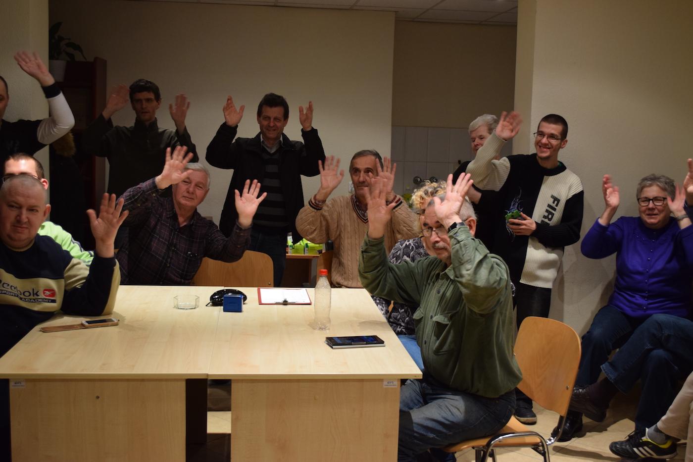 Spotkanie w Stowarzyszeniu Migiem przez Świat w Lublinie