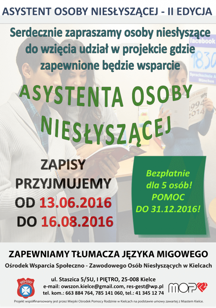 asytent osoby